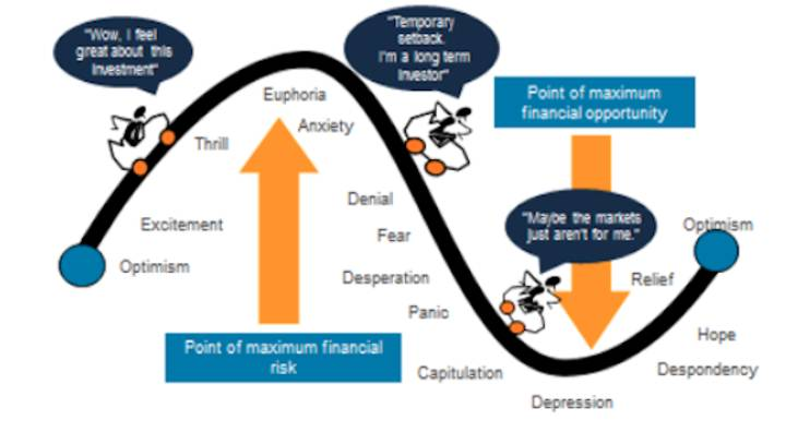 The roller coaster of investor emotion
